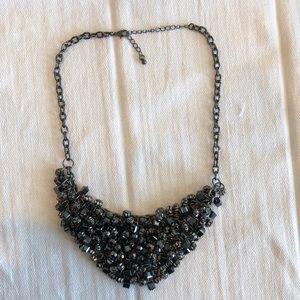 Black Statement Necklace - BaubleBar